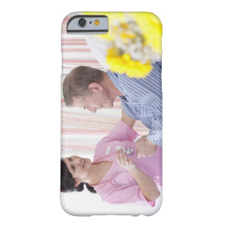 Nurse giving patient medication in hospital barely there iPhone 6 case