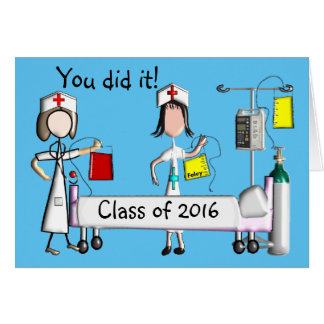 Nurse Graduation Cards Class of 2016