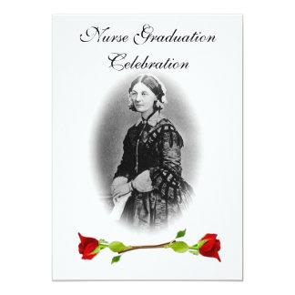 Nurse Graduation Celebration-Florence Nightingale 13 Cm X 18 Cm Invitation Card