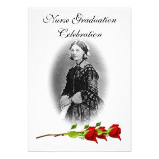 Nurse Graduation Celebration-Florence Nightingale Invites