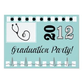 "Nurse Graduation Invitations 2012 5"" X 7"" Invitation Card"