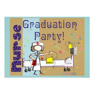 Nurse Graduation Party Invitations
