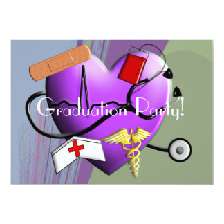 Nurse Graduation Party Invitations