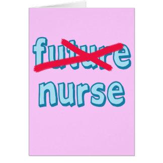Nurse Graduation Products Card