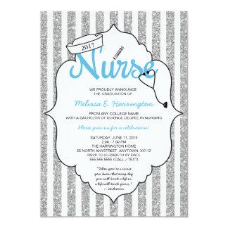 Nurse graduation, RN pinning ceremony, nurse party Card