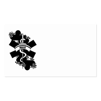 Nurse Heart Tattoo Pack Of Standard Business Cards