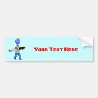 Nurse Humor Bumper Sticker