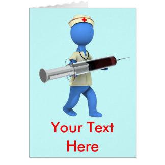 Nurse Humor Greeting Card