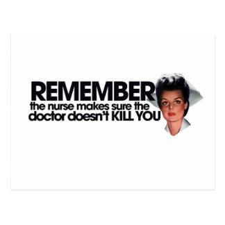 Nurse Humor Post Card