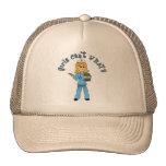 Nurse in Blue Scrubs (Blonde) Cap