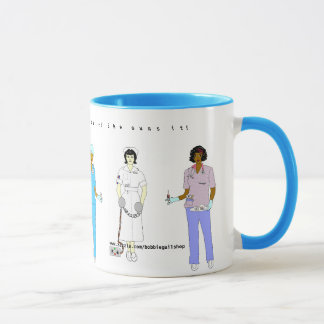 Nurse in the House! Mug