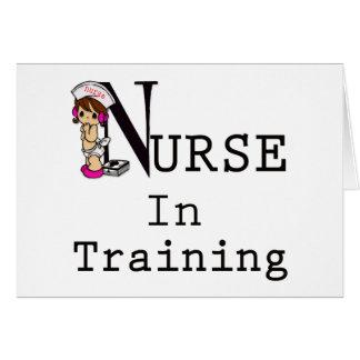 Nurse In Training Greeting Card