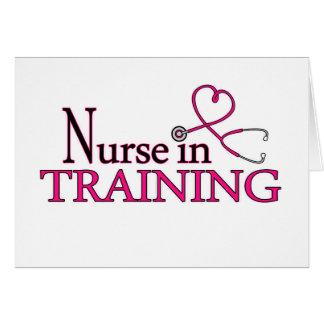 Nurse in Training - Pink Card