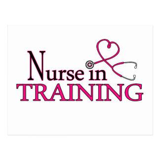 Nurse in Training - Pink Postcard