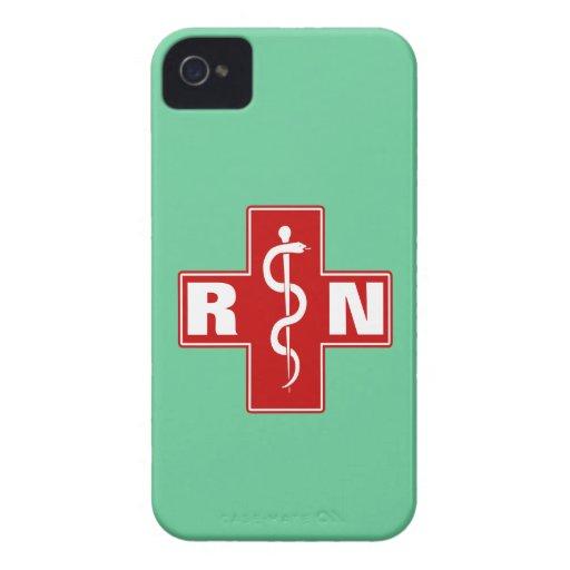 Nurse Initials iPhone 4 Case