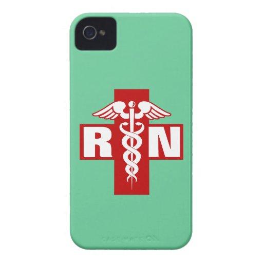 Nurse Initials Blackberry Bold Case