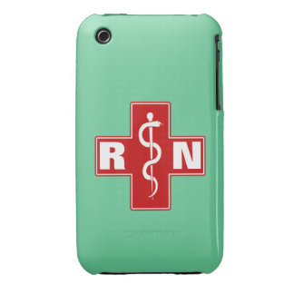 Nurse Initials Case-Mate iPhone 3 Case