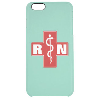 Nurse Initials Uncommon Clearly™ Deflector iPhone 6 Plus Case