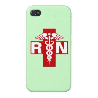 Nurse Initials Scrubs Green iPhone 4 Covers