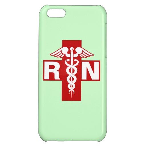 Nurse Initials Scrubs Green iPhone 5C Cover