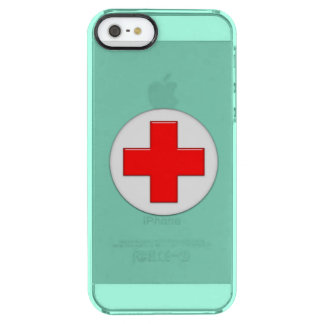 Nurse Uncommon Clearly™ Deflector iPhone 5 Case