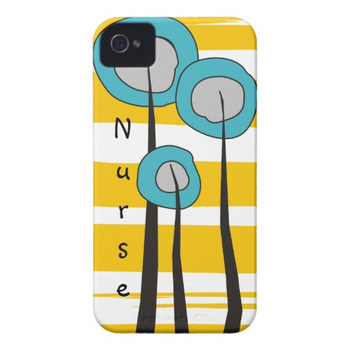 Nurse iPhone Cases Whimsical iPhone 4 Case