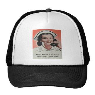 Nurse is my Name Mesh Hat