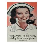Nurse is my Name Postcards