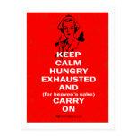 Nurse - Keep Calm and Carry On Postcards