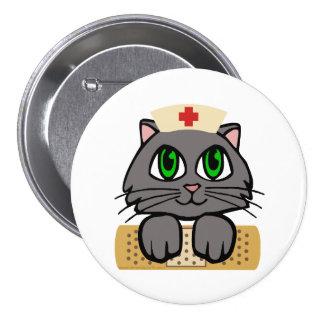 Nurse Kitten 7.5 Cm Round Badge