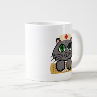 Nurse Kitten Large Coffee Mug