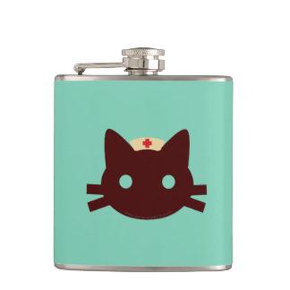 Nurse Kitty Hip Flask