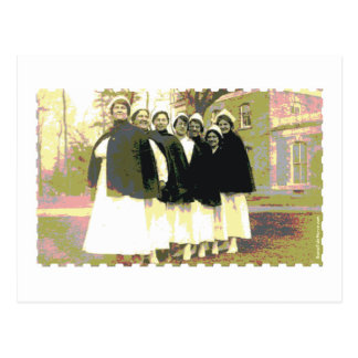 Nurse Lineup Postcards