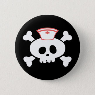Nurse Lolly 6 Cm Round Badge