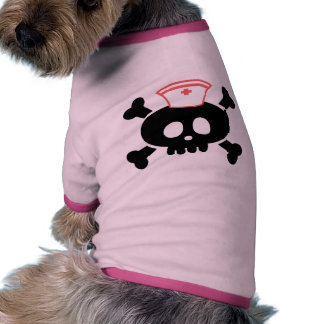 Nurse Lolly Ringer Dog Shirt