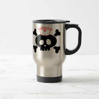 Nurse Lolly Stainless Steel Travel Mug