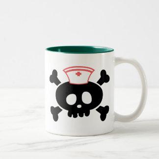 Nurse Lolly Two-Tone Coffee Mug