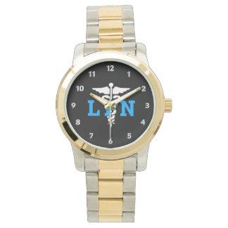Nurse LPN Medical Symbol Watch