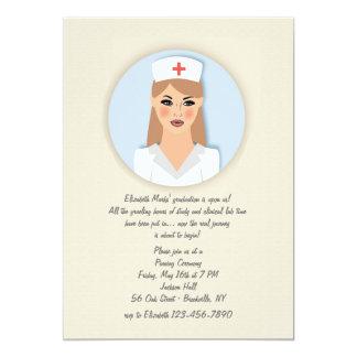 Nurse Medallion Invitation
