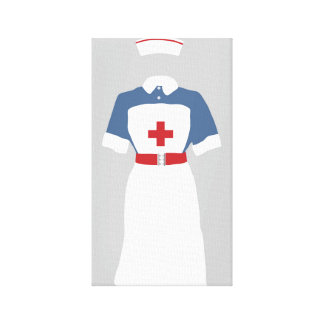 Nurse Medical & Emergency  EMT's Gallery Wrap Canvas