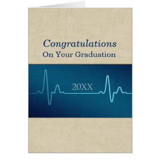 Nurse Medical or Doctor Graduate Congratulations Card
