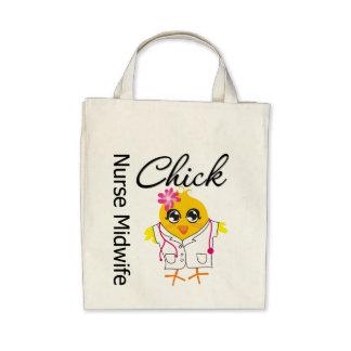 Nurse Midwife Chick v2 Tote Bag