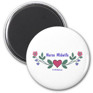 Nurse Midwife CSS Fridge Magnet