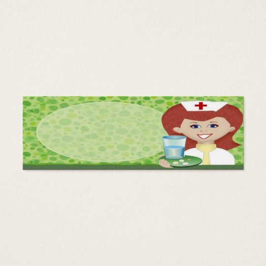 Nurse Mini Business Card