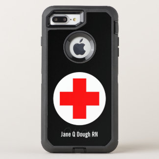 Nurse Name Template OtterBox Defender iPhone 7 Plus Case
