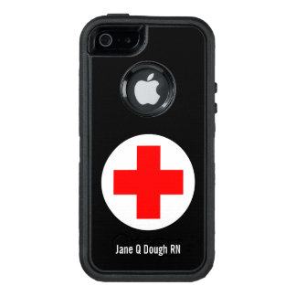 Nurse Name Template OtterBox iPhone 5/5s/SE Case