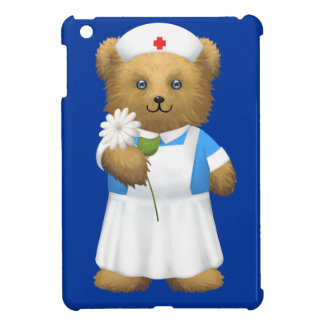 Nurse Nursing Teddy Bear iPad Mini Cover