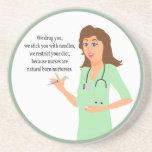 Nurse Nurturers Beverage Coasters