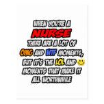 Nurse .. OMG WTF LOL Postcards