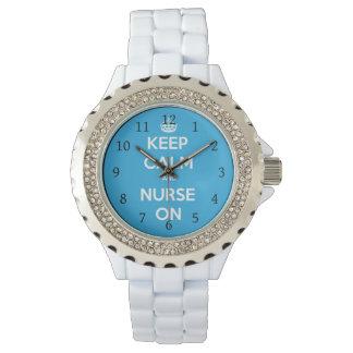 Nurse On Watch, Gift For Nurse Watch